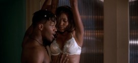 Vivica A. Fox nude nipple and sex and Tamala Jones not nude but hot - Booty Call (1997) Web-Dl hd1080p (6)