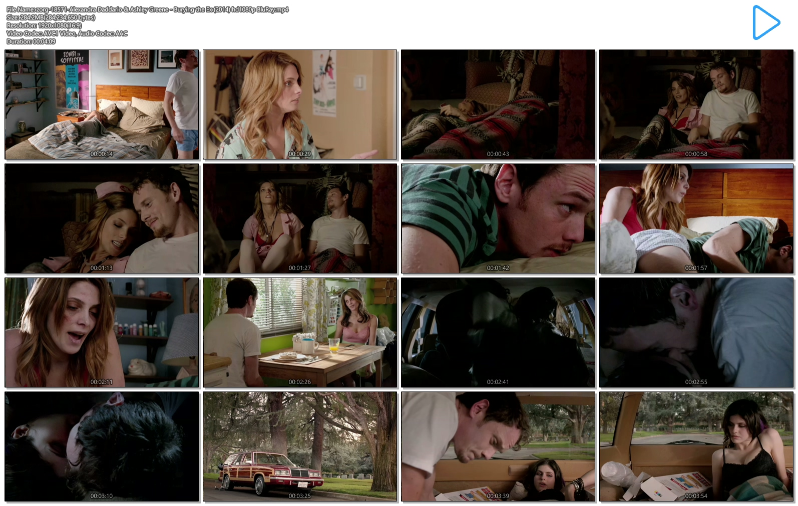 Alexandra Daddario hot cleavage and Ashley Greene hot - Burying the Ex (2014) hd1080p BluRay (14)