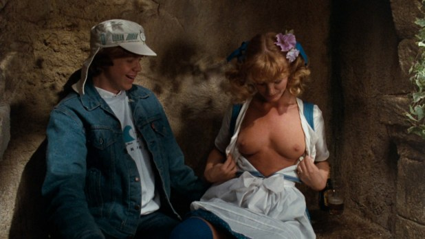 Beverly D'Angelo hot and sexy and Claudia Neidig nude topless - European Vacation (1985) hd1080p BluRay (2)