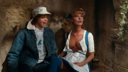 Beverly D'Angelo hot and sexy and Claudia Neidig nude topless - European Vacation (1985) hd1080p BluRay (10)