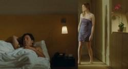 Marie-Josée Croze nude brief topless and sex - Je l'aimais (FR-2009) (7)