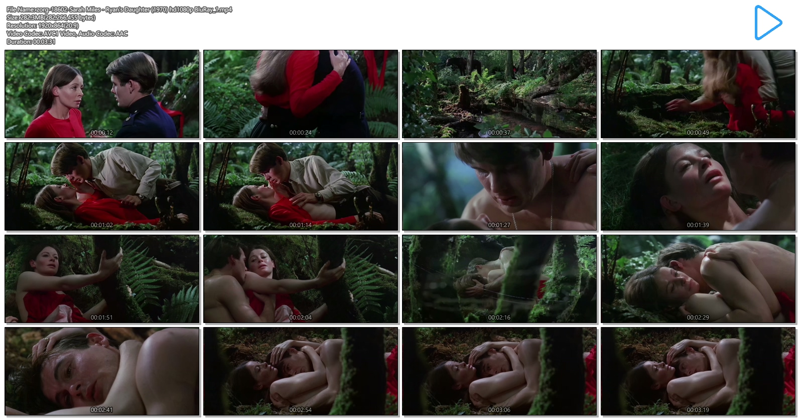 Sarah Miles nude brief topless in one sex scene - Ryan's Daughter (1970) hd1080p BluRay (8)