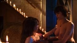Angelina Jolie nude Hedy Burress and Jenny Shimizu nude too - Foxfire (1996) HD 1080p Web (3)