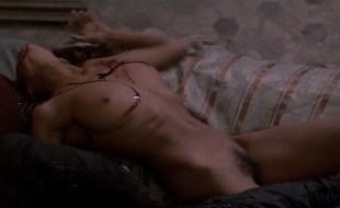 Anne Knecht nude bush and full frontal and Barbara De Rossi nude bush -Vampire in Venice (1988)