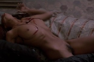 Anne Knecht nude bush and full frontal and Barbara De Rossi nude bush -Vampire in Venice (1988) (15)