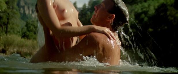 Madeleine Stowe nude topless wet and uber hot - Revenge (1990) hd1080p BluRay (16)