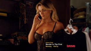 Serinda Swan hot and sexy in black lingerie - Graceland (2015) s3e9 hd720p