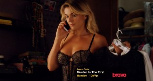 Serinda Swan hot and sexy in black lingerie - Graceland (2015) s3e9 hd720p (2)