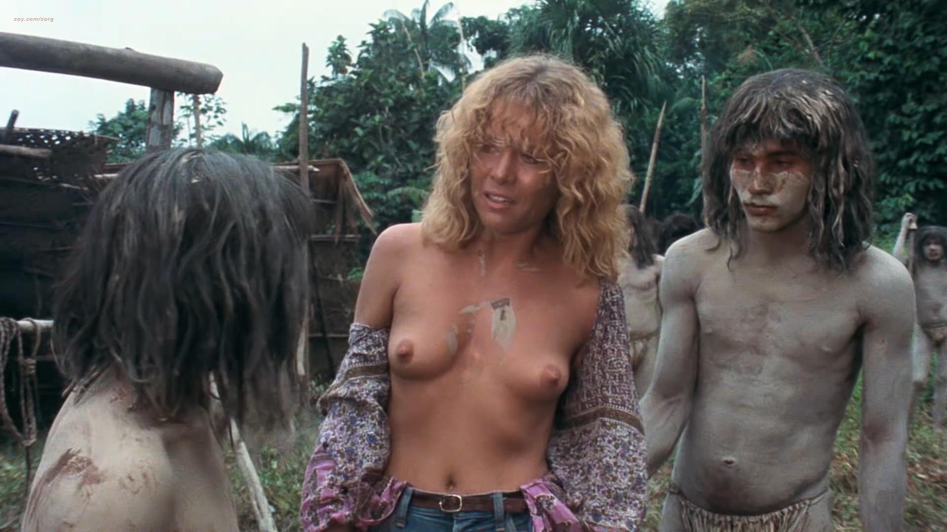 Zora Kerova nude topless - Cannibal Ferox (IT-1981) hd1080p BluRay (2)