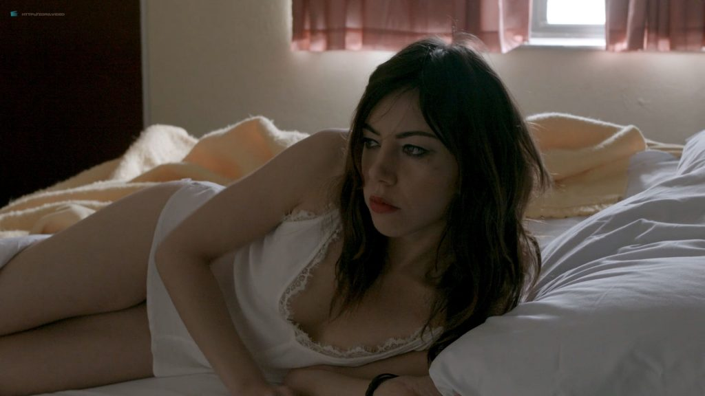 Aubrey Plaza nude more nipple slip and hot sex - Ned Rifle (2014) HD 1080p BluRay (2)