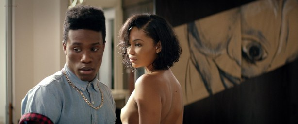 Chanel Iman nude topless - Dope (2015) HD 1080p BluRay (4)