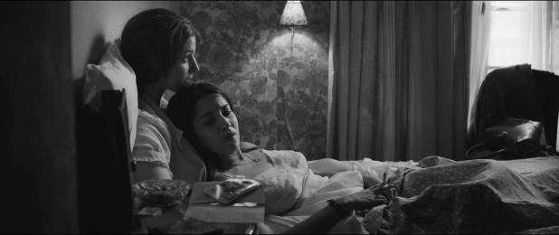 Esther Garrel nude brief side boob and Leïla Bekhti hot - L'astragale (FR-2015) HD 1080p (5)