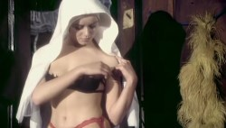 Gloria Guida nude bush and Femi Benussi nude- La novizia (IT-1975) (5)