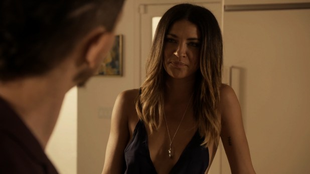 Jessica Szohr nude side boob and sex - Kingdom (2015) s02e02 HD 1080p (7)