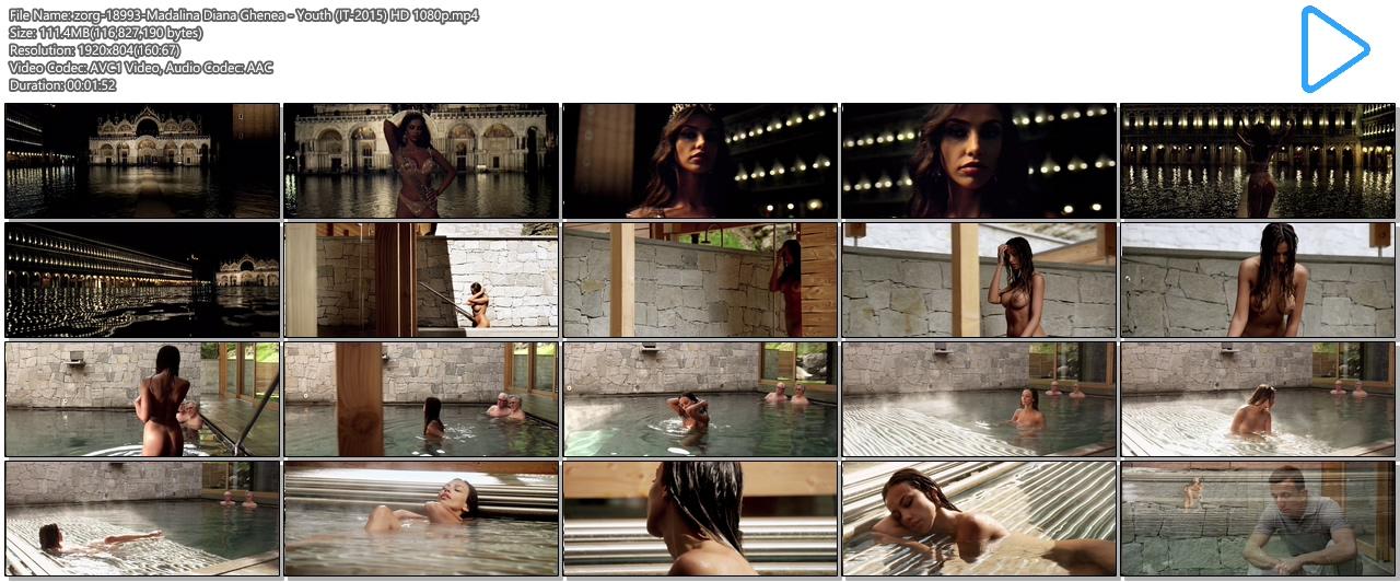 Madalina Diana Ghenea nude full frontal - Youth (IT-2015) HD 1080p (14)