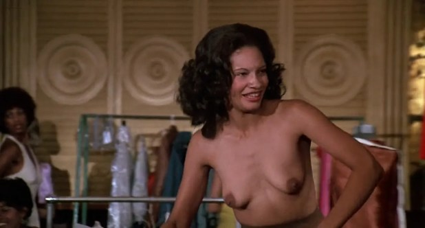 Pam Grier nude in shower and Rosalind Miles nude too - Friday Foster (1975) HD 720p BluRay (3)