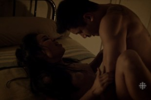 Stephanie Bennett nude sex and Lia Lam nude sex too - The Romeo Section (2015) S01E01 HD 720p (13)