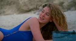 Virginia Madsen nude in the shower and Mariel Hemingway nude - Creator (1985) HDTV 720p (8)