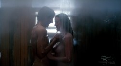 Virginia Madsen nude in the shower and Mariel Hemingway nude - Creator (1985) HDTV 720p (3)