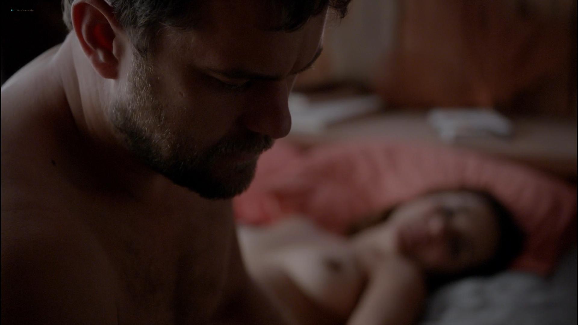 Catalina Sandino Moreno nude boobs and sex - The Affair (2015) S02E07 HD 1080p (1)