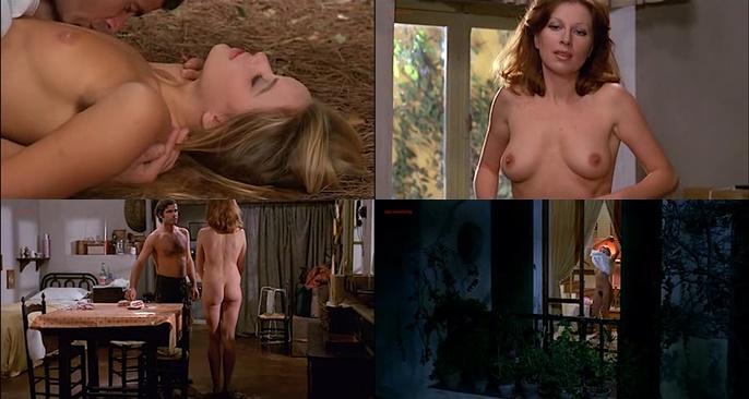 Gloria Guida nude bush and Anita Sanders nude butt - Quella Eta Maliziosa (IT-1975)