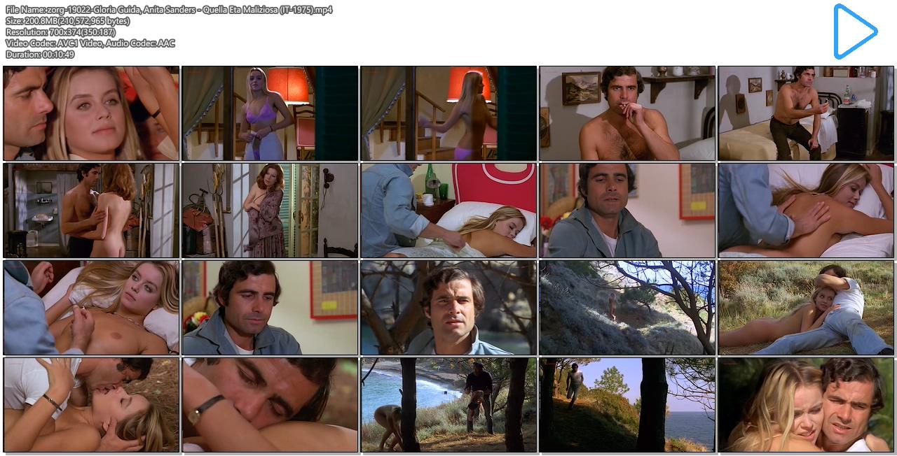 Gloria Guida nude bush and Anita Sanders nude butt - Quella Eta Maliziosa (IT-1975) (11)