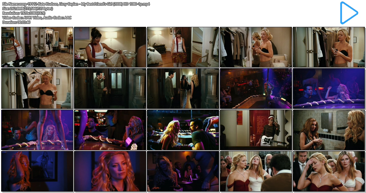 Kate Hudson hot Jacqui Holland nude Lizzy Caplan and Diora Baird hot - My Best Friend's Girl (2008) HD 1080p (13)