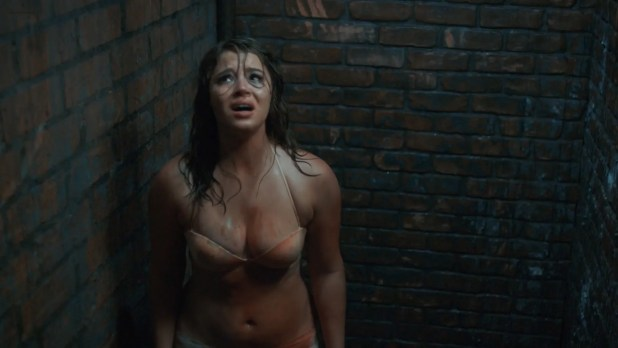 Kether Donohue hot bra undies Aya Cash hot cleavage- You're The Worst (2015) S02E08 HD 1080p (3)