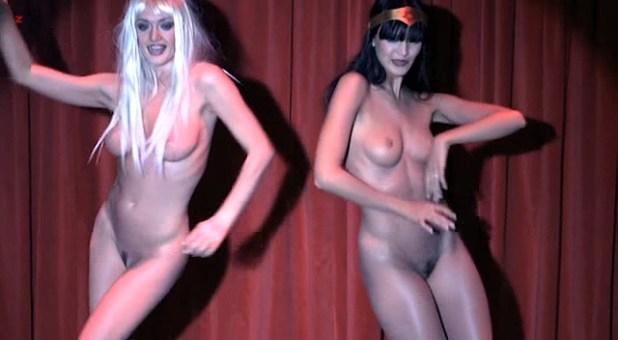 Paz de la Huerta nude bush Elena Simonova and Diana Baganova nude full frontal- X Femmes (2008) S1E1 (4)