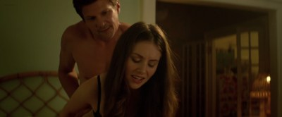 Alison Brie hot lingerie and butt in thong Amanda Peet hot - Sleeping with Other People (2015) HD 1080p (2)