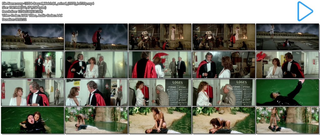 Raquel Welch hot cleavage wet and see through - L'animal (1977 hd720p (9)