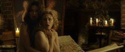 Sarah Gadon nude nipple and Malin Buska nude and lesbian sex – The Girl King (2015) HD 1080p BluRay (6)