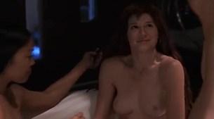 Tara Subkoff nude topless, Tiffany Limos nude butt and sex other's nude too - Teenage Caveman (2001) (4)