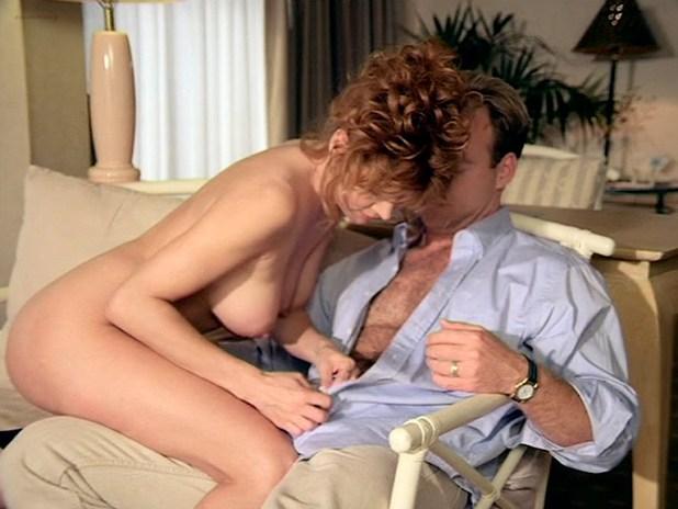 Cinzia Roccaforte nude butt and nude huge boobs, Lisa Comshaw nude sex - La Iena (1997) (15)