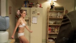 Emmy Rossum hot Laura Wiggins nude butt and hot - Shameless (US-2011) s1e9-10 HD 720p (2)
