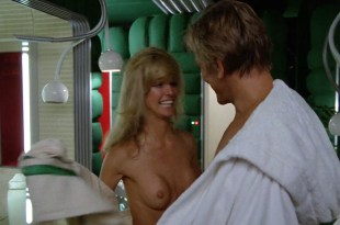 Farrah Fawcett nude brief topless and very hot – Saturn 3 (1980) HD 1080p BluRay
