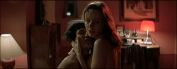 Francesca Neri nude topless and sex Andie MacDowel nude brief boobs if hers - Ginostra (2002) (3)