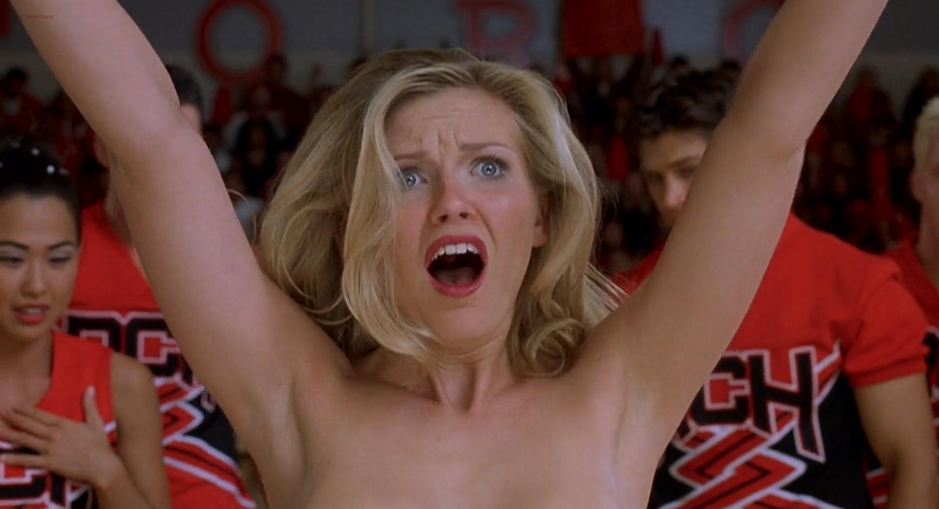 Kirsten Dunst hot bra and panties Eliza Dushku hot bikini - Bring It On 2000 HD 1080p BluRay (2)