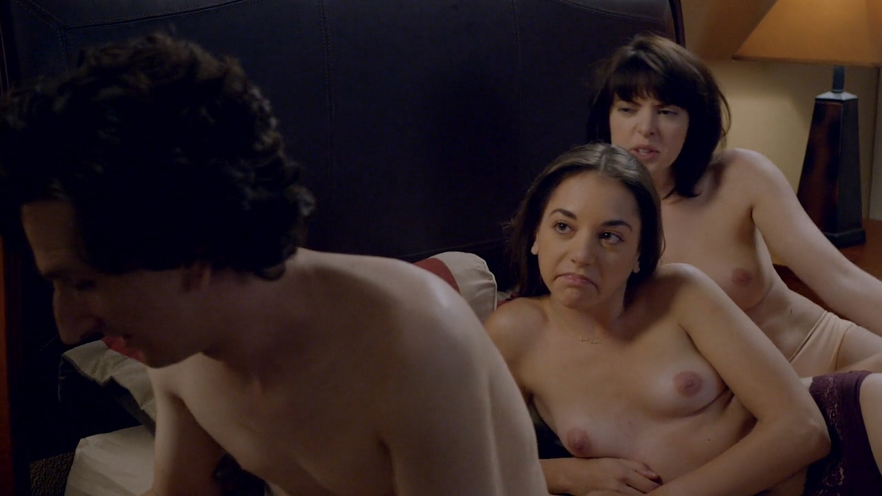 Gillian Jacobs hot sex, Emily Sandifer and Jennifer Blakeslee nude topless and sex - Love (2016) s1e1 HD720p (1)