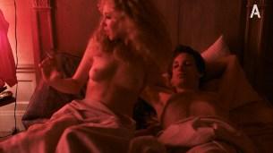 Juno Temple nude butt and boob in hot sex scene - Vinyl (2016) s01e01 HDTV 1080p (9)
