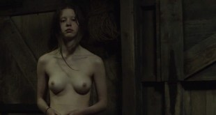 Mia Goth nude bush and sex and Olwen Fouere nude too - The Survivalist (UK-2015) HD 720p Web-Dl (10)