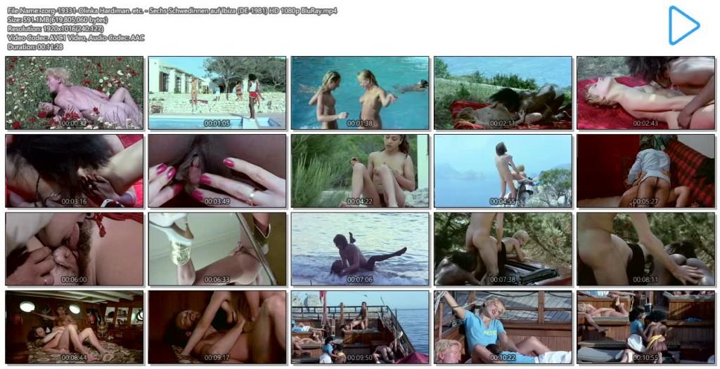 Olinka Hardiman nude sex others's nude - Sechs Schwedinnen auf Ibiza (1981) HD 1080p BluRay (13)
