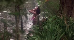 Adrienne Barbeau nude side boob - Swamp Thing (1982) HD 1080p