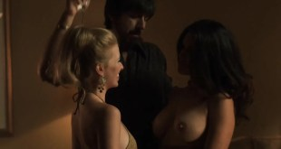 Kati Sharp nude topless and Frances Eve nude sex threesome - Vinyl (2016) s1e7 HDTV 720p (4)