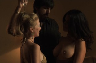 Kati Sharp nude topless and Frances Eve nude sex threesome – Vinyl (2016) s1e7 HDTV 720p