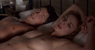 Kim Cattrall nude topless and Meg Tilly hot sex - Masquerade (1988) (7)