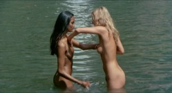 Laura Gemser nude bush, Monica Zanchi nude other's nude too - Emanuelle and the last cannibals (1977) HD 1080p BluRay (4)