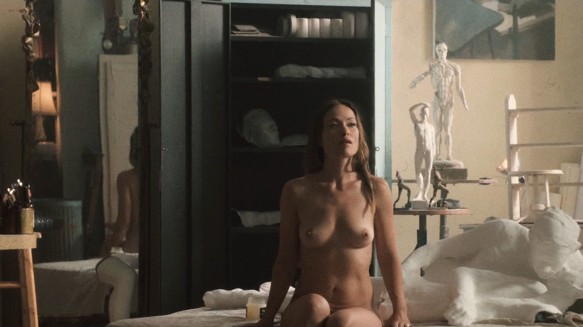 Olivia wilde nude on vinyl