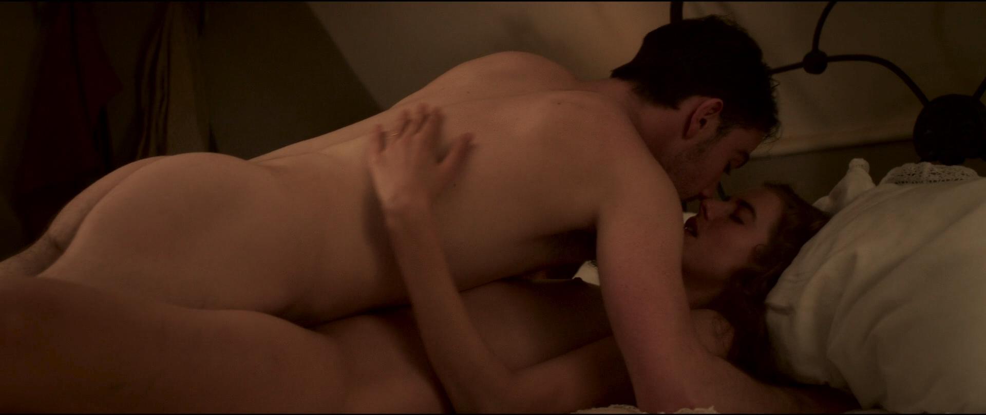 Agyness Deyn nude bush, full frontal and sex - Sunset Song (UK-2015) HD 1080p BluRay (1)