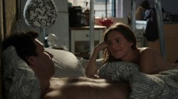 Jemima Kirke nude bush and Allison Williams hot - Girls (2016) s5e10 HDTV 720p (5)